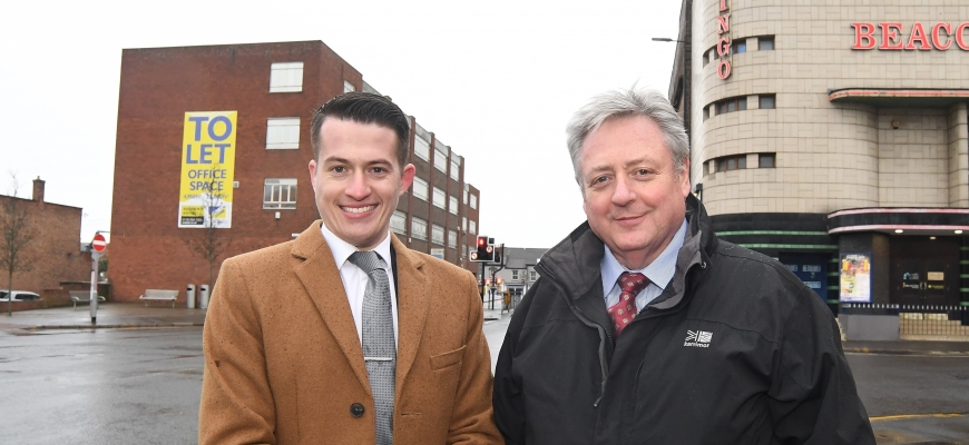 Luke Farquharson (Construction Manager) and Kieran Leahy (Co-Founder)