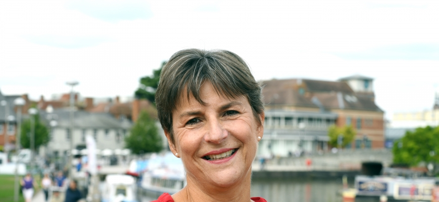 Helen Peters, CEO of Shakespeare's England