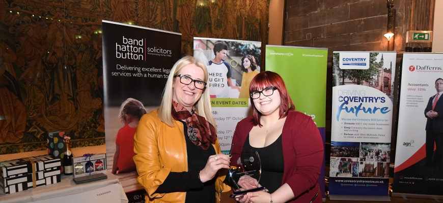 Kat Adams, Advent Communications and Paula Deas, CWLEP