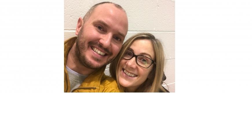 Rachael and Steve Bland